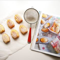 """RG @d_ariab - love this pic of the Madeleines from our French edition! We're always pleased as punch when you share your Jamie mag creations, keep 'em…"""