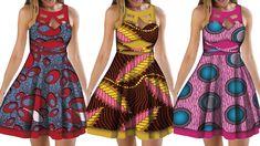 Short African Dresses, African Print Dresses, African Print Fashion, Africa Fashion, African Fashion Dresses, Fashion Prints, African Attire, African Wear, African Women