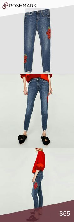 WEEKEND SALE! Zara jeans(price is firm) Brand new. Stretch denim  Reduced from $55 price is firm Zara Jeans