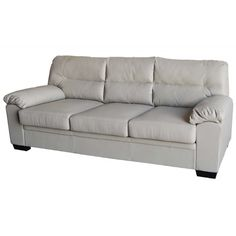 Καναπές τριθέσιος IMPERIAL από PU σε γκρι χρώμα E9421,31