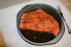 Mister Zees Favorite Salmon Marinade  ¾ cup soy sauce – lite soy if you prefer; Tamari (naturally brewed soy is great!) ¼ cup olive oil 1 te...