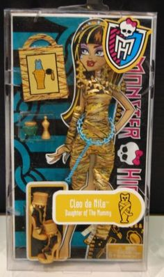 Monster-High-Gold-Fashion-Pack-Cleo-DeNile-outfit-clothes-Rare-HTF