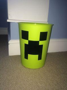 Minecraft Bedroom Bin   eBay