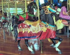 Richland Carrousel Park Carrousel Carousel Works Outside Row Stander