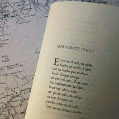 """Qué suerte tengo (de la antología ampliada """"La ciudad"""", Karmelo C. Iribarren)."""