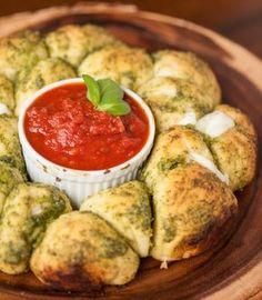 Pizzablumen & Pinwheels: Das neue Partyfood aus dem Ofen