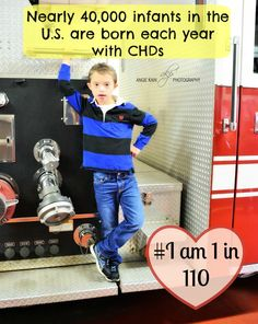 Nearly 40,000 infants in the U.S. are born each year with CHD. I bet you really never thought about this statistic, and thousands of them will not reach their first birthday!Let's help spread awareness about CHD.  #chd #chdawareness #iam1in110