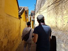 Our private guide took us off-the-beaten path through Hoi An's many alleyways. Alleyway, Hoi An, Paths, Vietnam, Travelling, Instagram, Pathways, Walkways
