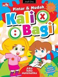 Pintar dan Mudah: Kali Bagi + Poster - BukaBuku.com - Toko Buku Online