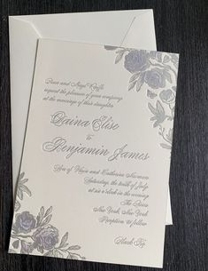 Floral and silver wedding invitation with classic touches Bohemian Chic Weddings, Silver Wedding Invitations, Wedding Planning, Reception, Marriage, Wedding Inspiration, Daughter, Floral, Classic