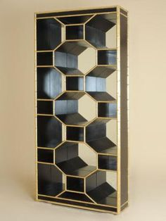 5 Sculptural Shelving Solutions For Your Home: Celerie Kemble for Henredon Ravenel Bookshelf