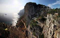 Isola di Capri, Golfo di Napoli, Italia