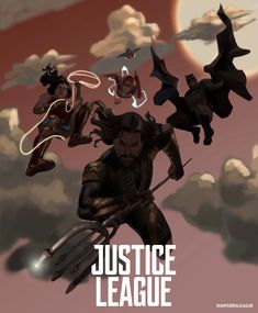 Justice League Movie Poster 2018 Cartoon Version, 19 Justice League Easter Eggs - DigitalEntertainmentReview.com