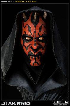 Sideshow Star Wars: Busto Darth Maul em Escala 1:2