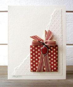 kaartje voor kerst