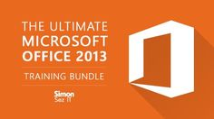 """90% Off Udemy Course """"The Ultimate Microsoft Office 2013 Training Bundle"""" by Simon Sez It - Limited Time - http://lucianwebservice.com/affiliate-programs/90-off-udemy-courses-the-ultimate-microsoft-office-2013-training-bundle-by-simon-sez-it-limited-time.html"""