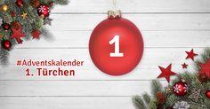 1. Türchen & doppelt gewinnen! In unserem #Adventkalender warten zwei Wohnaccessoires von design3000 auf euch! ►