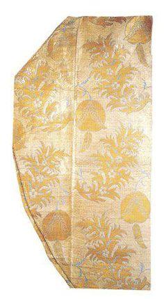 Silk brocade ceremonial şalvar (baggy trousers).  Ottoman, 17th century.  (Topkapı Palace Museum).