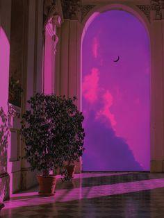 Artist: Track: Varg - Stockholm City techno deep dub space neon vapor cyber futuristic future home planets lights architecture tech purple cyberpunk architectureporn electronic Bedroom Wall Collage, Photo Wall Collage, Picture Wall, Aesthetic Pastel Wallpaper, Aesthetic Backgrounds, Aesthetic Wallpapers, Purple Aesthetic Background, Purple Emoji, Pink Purple