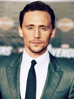 Tom Hiddleston. Cannot get enough of this gorgeous, intelligent man. & I love his voice. ahhhhh :(