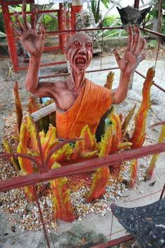 DINOSAURS AND DAMNATION: THE HORROR OF BUDDHIST HELL TEMPLES