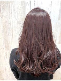 イルミナカラー/ラベンダーピンク Hair Colour, Color, Gorgeous Hair, Hair Goals, Hair Extensions, Hair Makeup, Hairstyles, Long Hair Styles, Pink