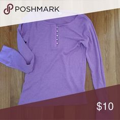 Purple long  girls shirt Pre-owned long girls purple t-shirt. Very good condition. Old Navy Shirts & Tops Tees - Long Sleeve
