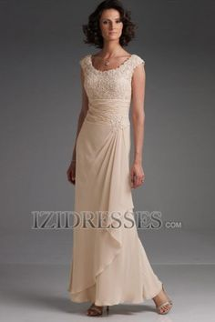 Sheath/Column Straps Chiffon Mother of the Bride Dress - IZIDRESSES.COM.  Would love this but in royal blue.
