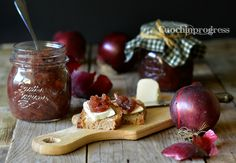 Confettura di cipolle rosse Easy Delicious Recipes, Yummy Food, Dairy, Cheese, Canning, Delicious Food, Good Food