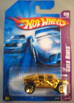 Hot Wheels 2007 Gold Rides Humvee 3/4 055/180 by Mattel. $2.99. Gold Rides. 2007. 1:64. Limited edition Hotwheels chase car.