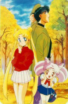 Serina, Darien, and Rini