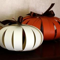 D.I.Y. Paper Pumpkin Tutorial featured in Sova-Enterprises.com Newsletter!