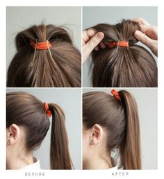 157 Best Simple Hairstyles Images On Pinterest Easy Hairstyles