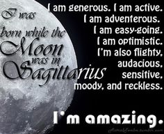16 Best Sagittarius: Moon sign images in 2016 | Zodiac, My zodiac