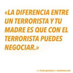 Terroristas y madres