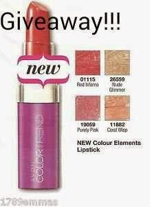 Giveaway με δώρο κραγιόν Avon Color trend!!!