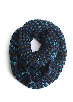 Colorfully Mixed Infinity Scarf