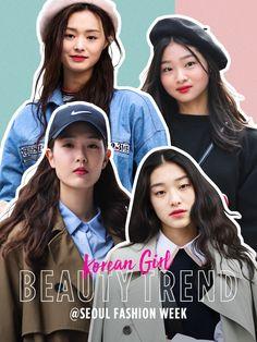 ソウル・ファッションウィークで発見! 韓国のリアルなビューティトレンド5。 - 韓国のトレンドワードをピックアップ!   VOGUE GIRL Seoul Fashion, Korean Girl, Movies, Beauty, Films, Movie, Cosmetology, Film, Movie Theater