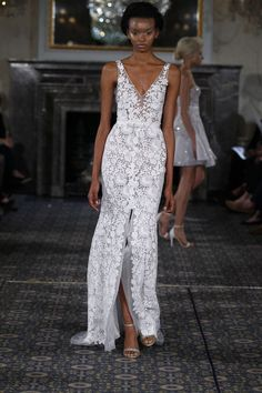 Mira Zwillinger bridal collection is available at Mark Ingram Atelier in New York City.