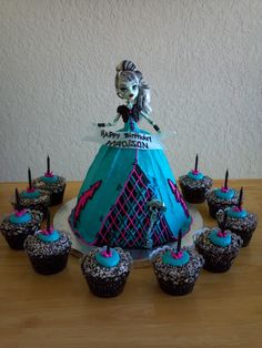 Monster High Girl — Children's Birthday Cakes