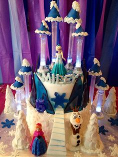 Frozen cake made by Teresa Lynn Cakes
