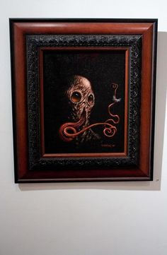 "Dan Harding ""Nyelv"" 8"" x 10"" Oil and Canvas 2010    See this incredible and Amazing Works :  http://www.danhardingart.com/"