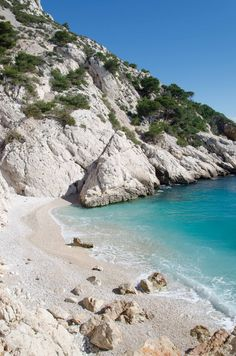 Calanques, Marseille. France                              …