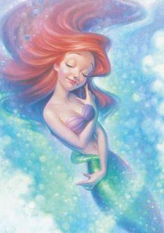 ♡ Ariel Disney, Disney Pixar, Disney Little Mermaids, Ariel The Little Mermaid, Disney Fan Art, Disney Dream, Disney Style, Disney Magic, Mermaid Mermaid