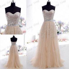 Cheap Dress 2014 Aline Sweetheart Brilliant by longfeng2013, $122.60