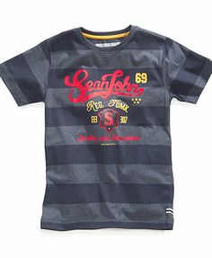Sean John Kids T-Shirt, Little Boys Academy Tee