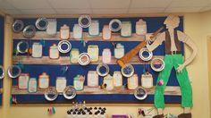 BFG dream jars and dream catchers display