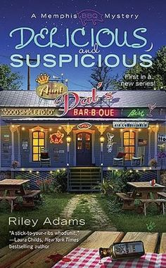 Memphis BBQ Mystery Series by Riley Adams
