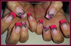 Me To You with french & lace by RadiD - Nail Art Gallery nailartgallery.nailsmag.com by Nails Magazine www.nailsmag.com #nailart