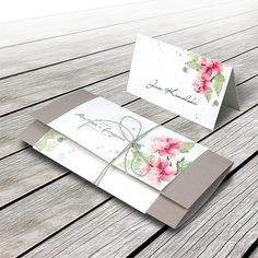 Wedding invitation  F1339